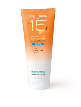 EQUILIBRIA Sun Lotion SPF 15, 200ml